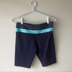 Lululemon Purple & Turquoise Reversible Short